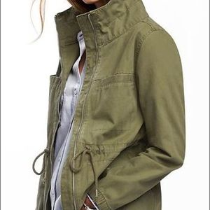 Worn once- Old Navy canvas field jacket